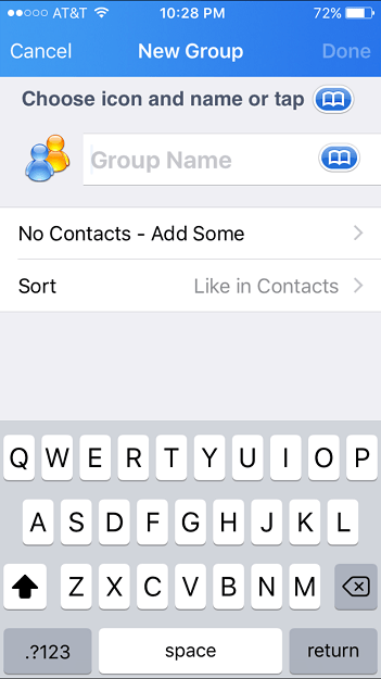 how to create groups on iphone how to make a contact on an iphone digital trends 4777
