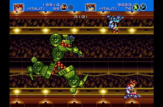 best sega genesis games gunstar heroes 3
