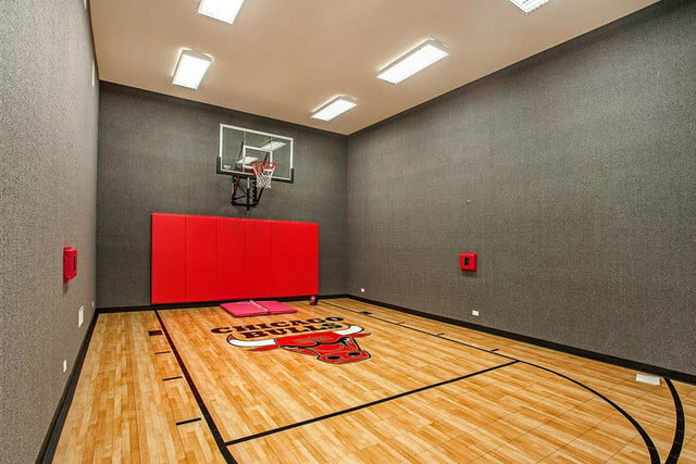 The Coolest Homes With Indoor Basketball Courts Digital