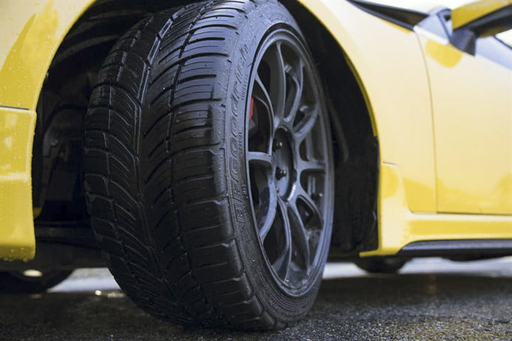 Let's take a moment to marvel at how incredibly high-tech modern car tires are