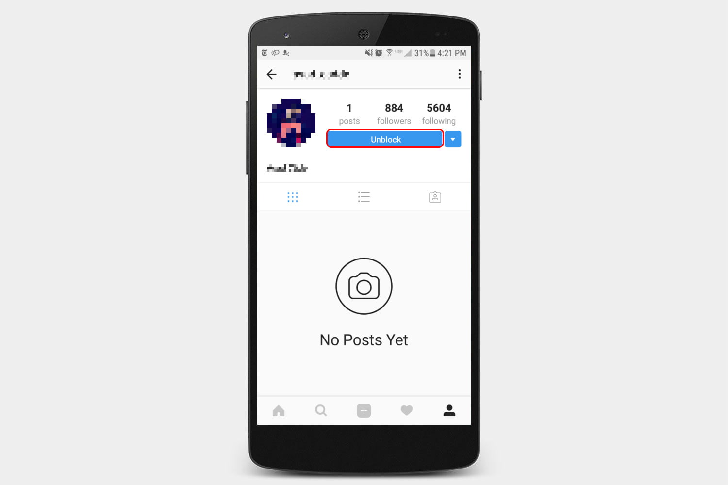 Can you unblock someone on instagram that has blocked too