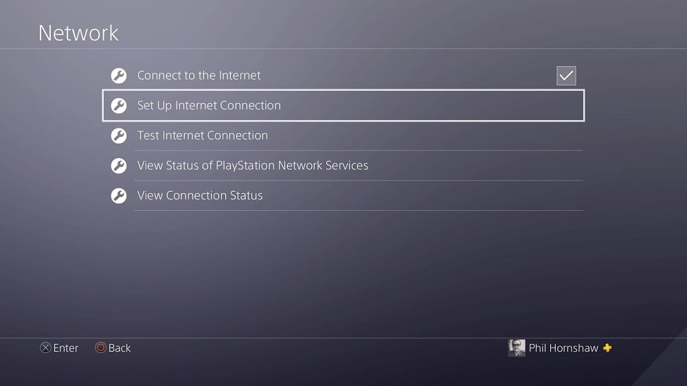 how to use vpn on ps4 playstation 4 network menu