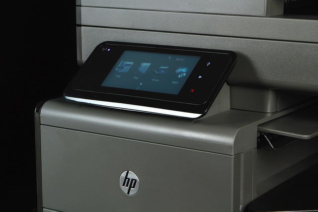 HP OfficeJet Pro X display angle 2