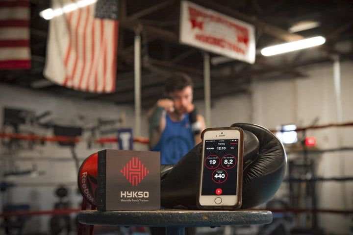 Hykso Punch Trackers lifestyle
