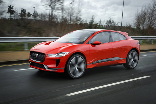 Jaguar I-Pace in London