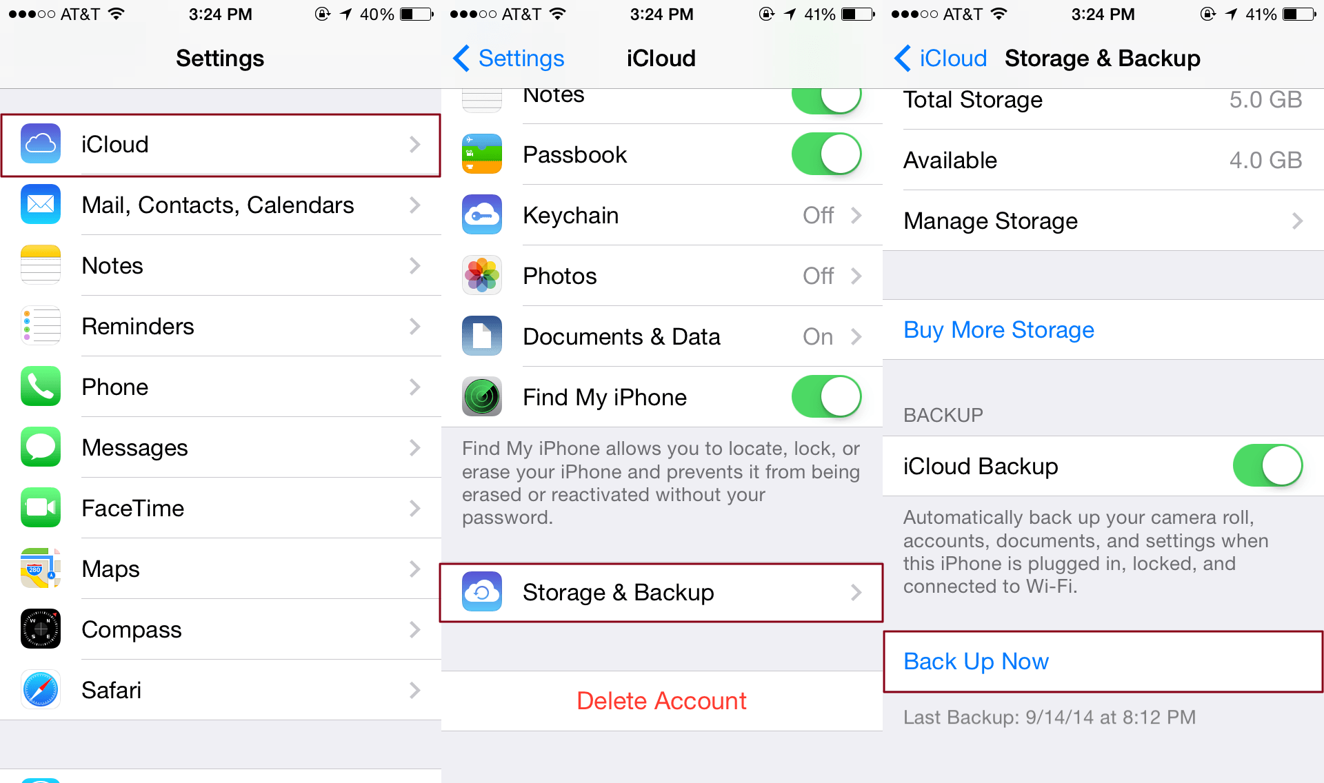 how to backup your iphone to icloud how to back up your iphone to your computer without itunes 19844