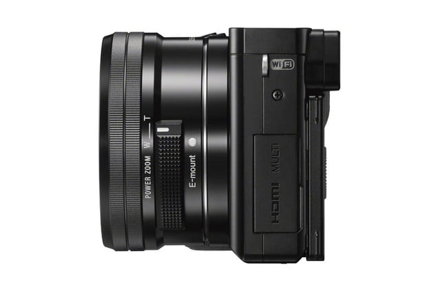 sony unveils alpha a6000 mirrorless camera ilce 6000 wselp1650 leftside black 1200