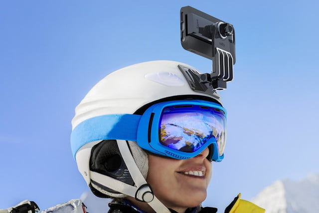 iluv smartphone case with built in remote shutter designed for the selfie obsessed selfy helmet