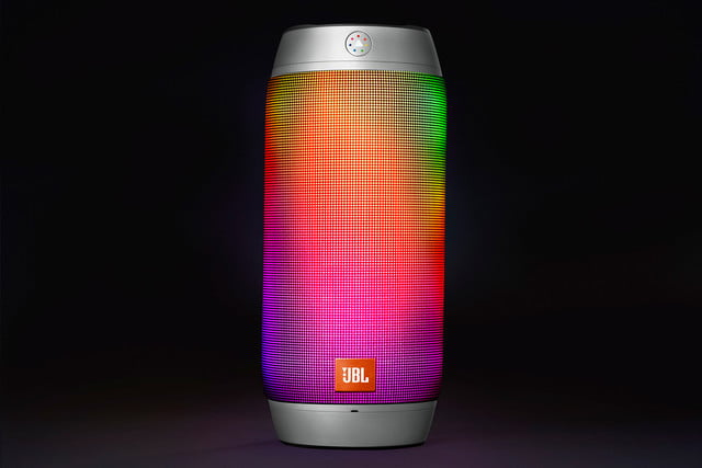 jbl new bluetooth speakers boost tv trip pulse 2 ifa 2015 image  pulse2 silver rainbow