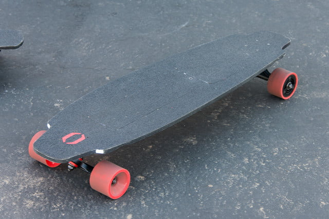 inboard m1 electric skateboard hands on ces 2016 ride 10
