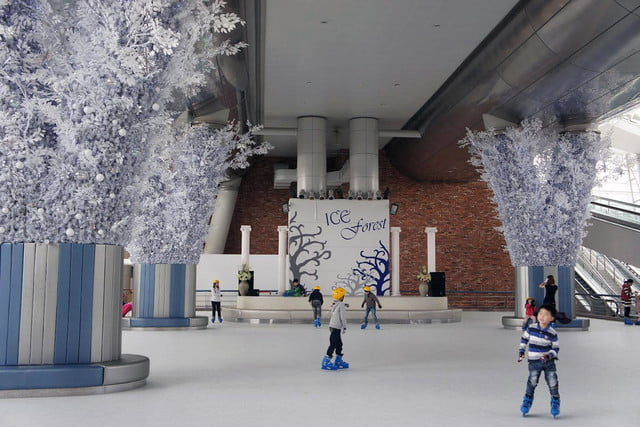 best airports for layovers incheon international airport ice forest