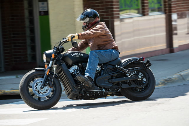 2018 indian scout bobber is stripped down and blacked out. Black Bedroom Furniture Sets. Home Design Ideas