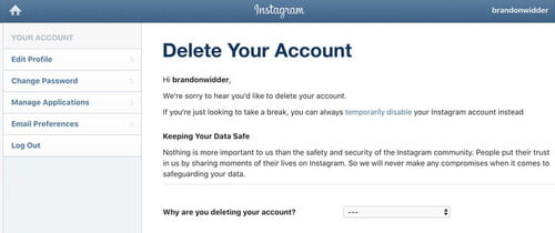 How to Delete Your Instagram Account | Digital Trends