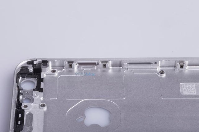 say hello to the iphone 6s leaked images of metal frame reveal no changes chassis 08