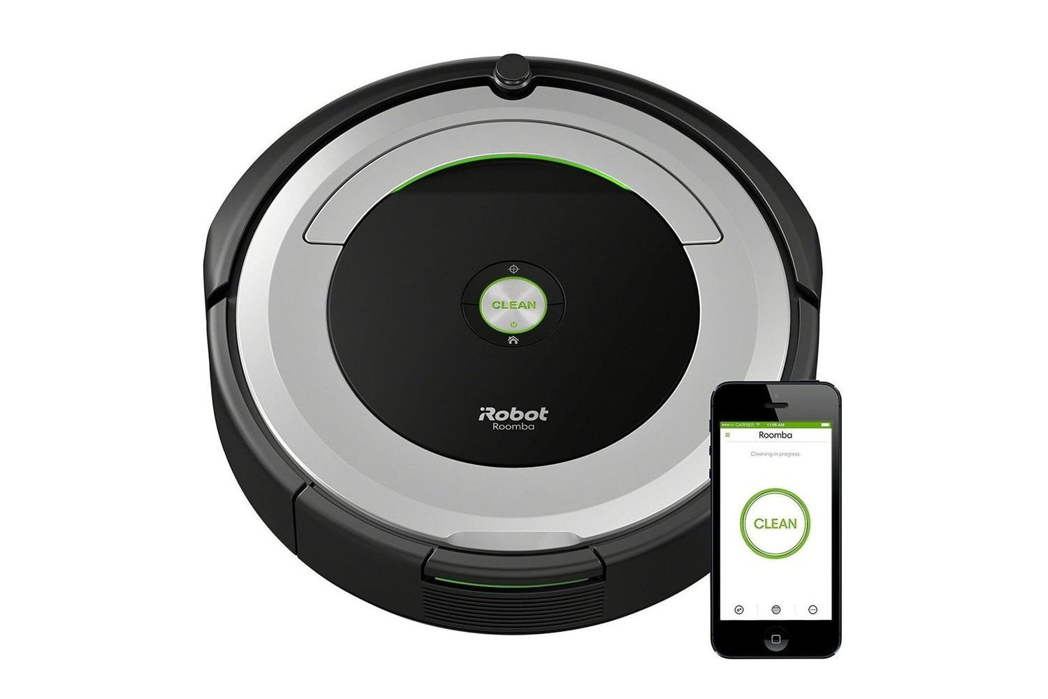 iRobot Roomba 690 Robot Vacuum With Wi-Fi Connectivity irobot roomba deals