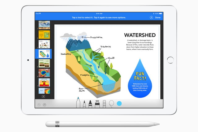 apple 2018 ipad iwork update water shed 032718