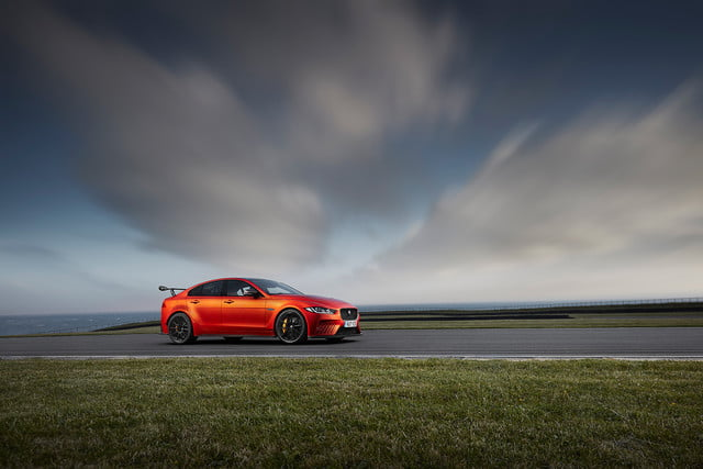 Jaguar-XE-SV-Project 8 wide shot