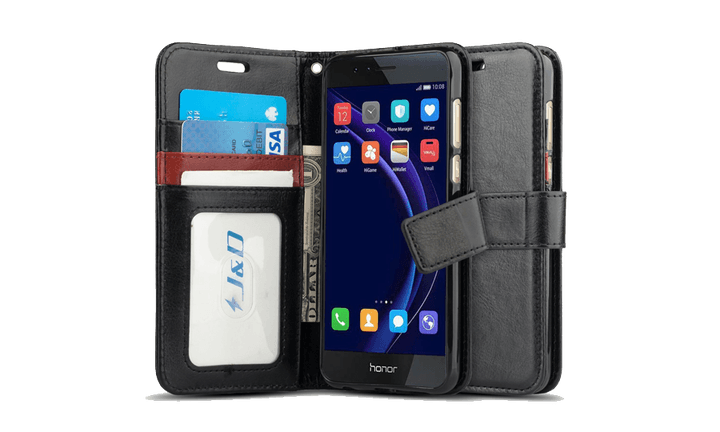 jd wallet case - best Honor 8 cases