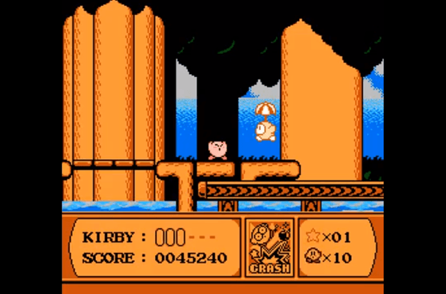 best nes games ever kirby s adventure screem 3