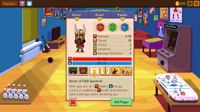 5 iphone games you need to play this week knights of pen  paper 2 screen1