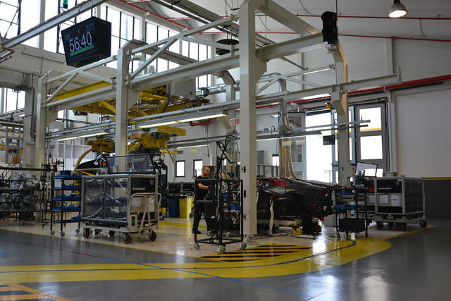 lamborghini factory tour pictures production process 0130