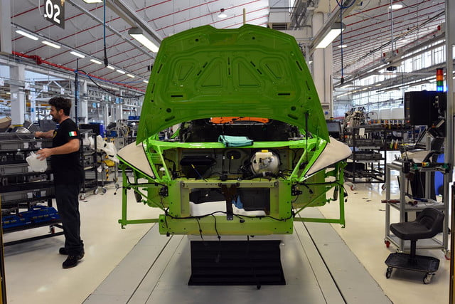 lamborghini factory tour pictures production process 0963