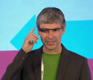 Speech of google glass