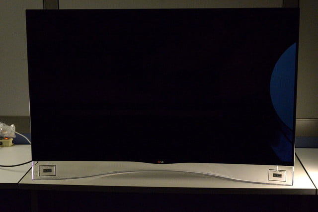 LG 55EA9800 curved OLED front off