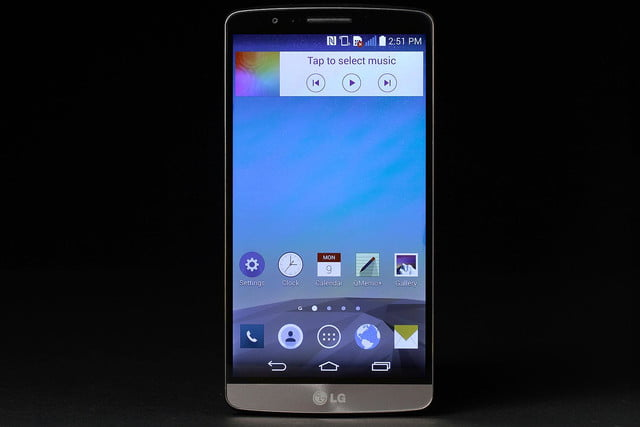 LG G3 front music