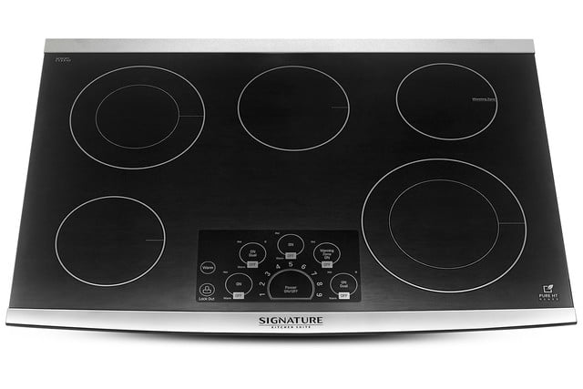 signature is a luxury smart appliance brand from lg kitchen suite electric range cooktop
