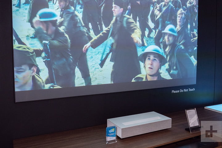 LG Ultra Short Throw Projector