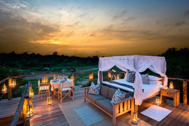 retreat from society and relax in these idyllic cabins around the world lion sands game reserve 12