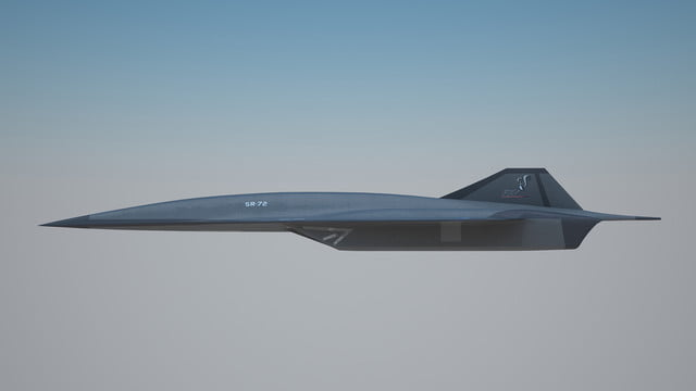 high speed concepts that could mark the return of supersonic travel lockheed martin sr 72 hypersonic aircraft 2