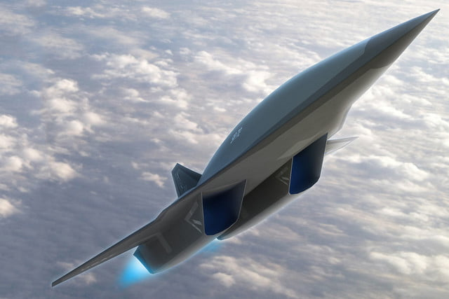 high speed concepts that could mark the return of supersonic travel lockheed martin sr 72 hypersonic aircraft