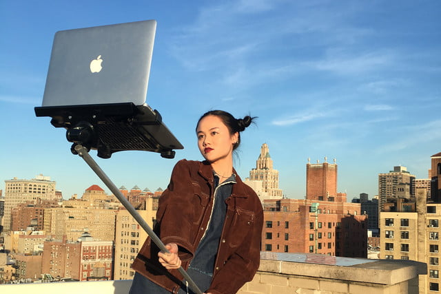 macbook selfie stick 23