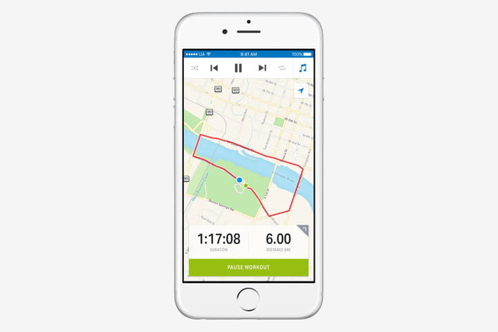 best health and fitness apps for iphone mapmyrun