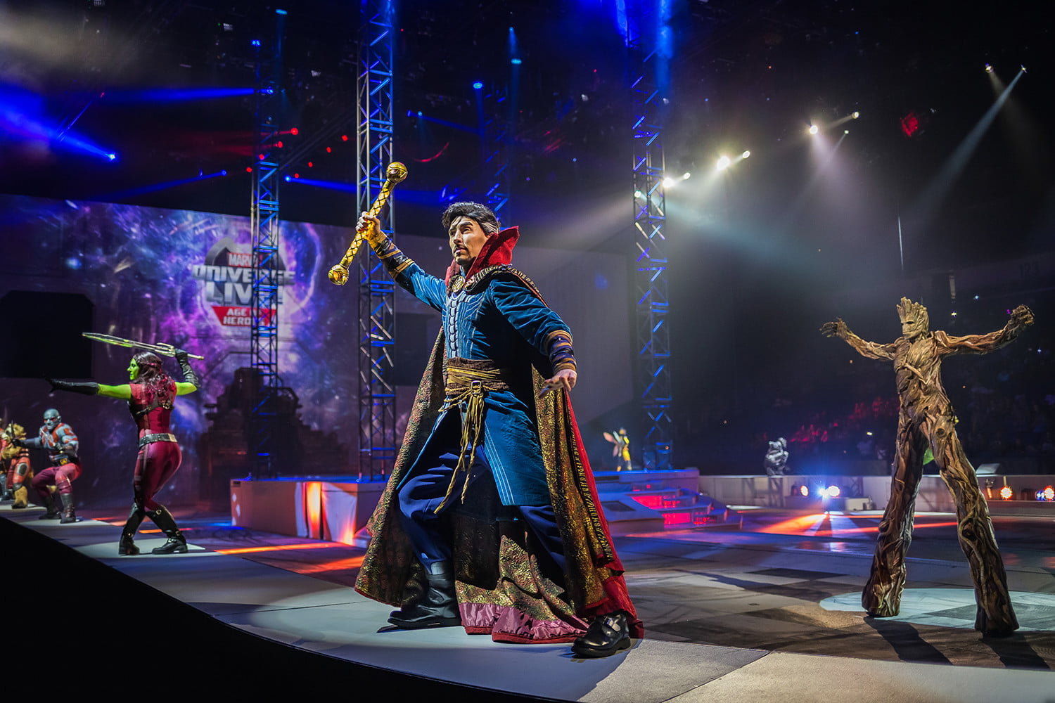 We Live In An Age Of Universal Investigation And Of: Marvel Universe Live Is A Circus Full Of Your Favorite