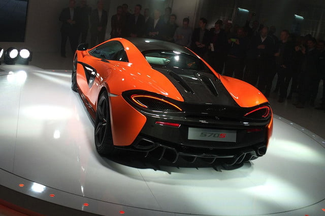 McLaren 570S Reveal back angle 2
