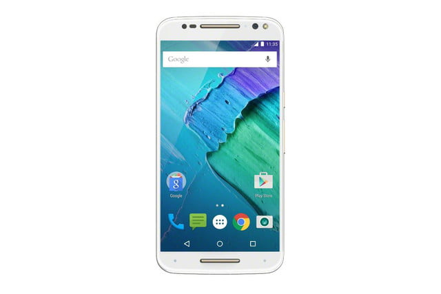 moto x 2015 news style pure edition champagne front