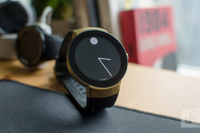 Movado Connect on table black