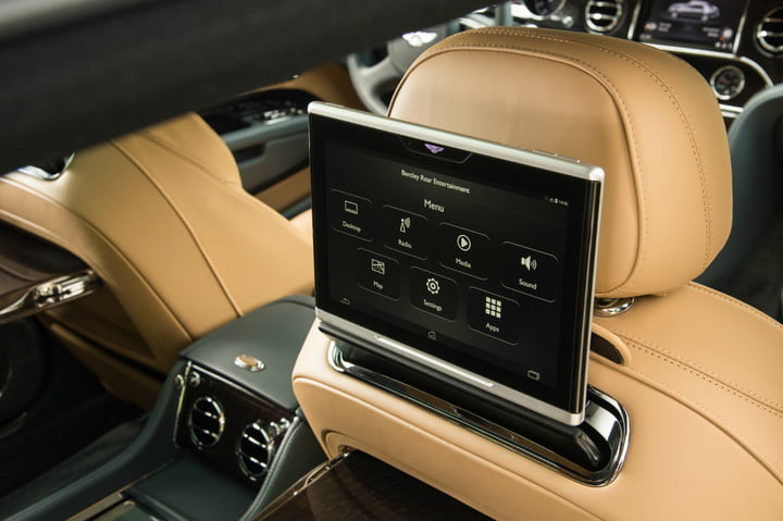 bentley super fast in car internet mulsanne extended wheelbase  extreme silver 17