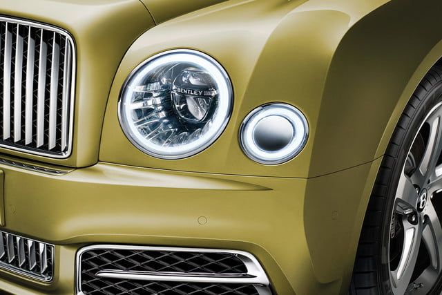 bentley engineering boss interview mulsanne speed headlamp on