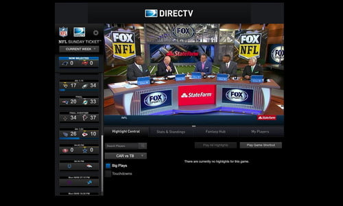 NFL Live Streams: Hands on With NFL Sunday Ticket tv | Digital Trends