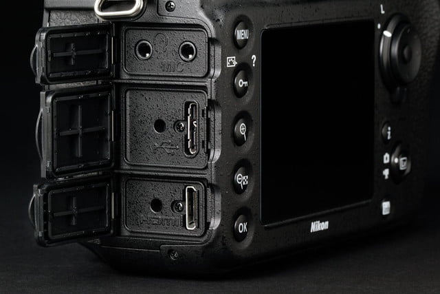 nikon d810 review right side ports