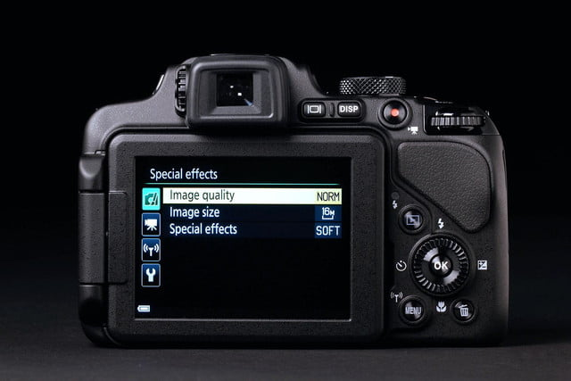 NIKON P600 back special effects