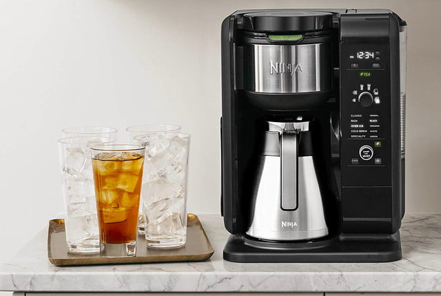 amazon ninja coffee maker deals hot and cold brewed system auto iq tea with thermal carafe 03