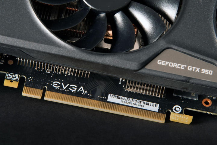 Nvidia GTX 950 PCI connection