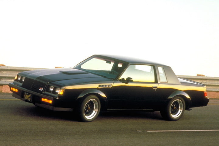 American muscle cars 1987 Buick GNX