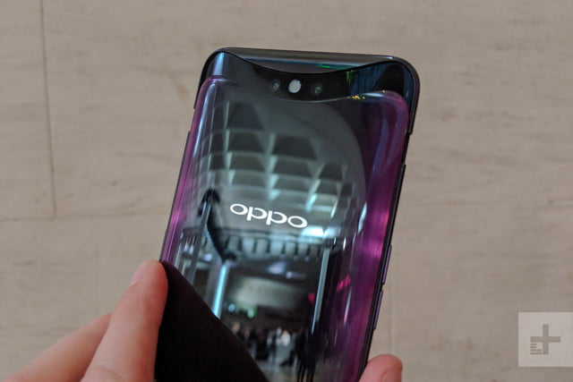 oppo find x hands on lens open in hand back
