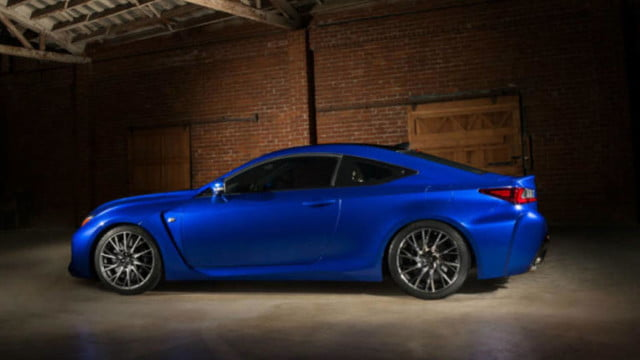 2015 lexus rc f is revealed ahead of the 2014 detroit auto show leaked photo